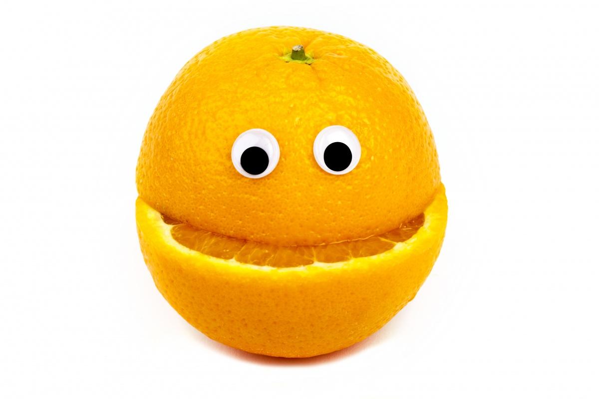 мандариновий монстрик