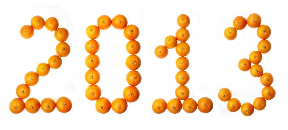 2013 из мандаринов