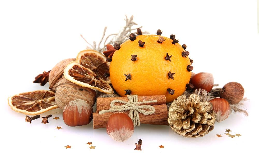 мандарини і прянощі