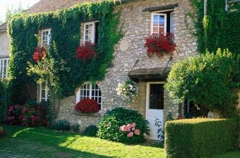 Каменный дом с вертикальным озеленением