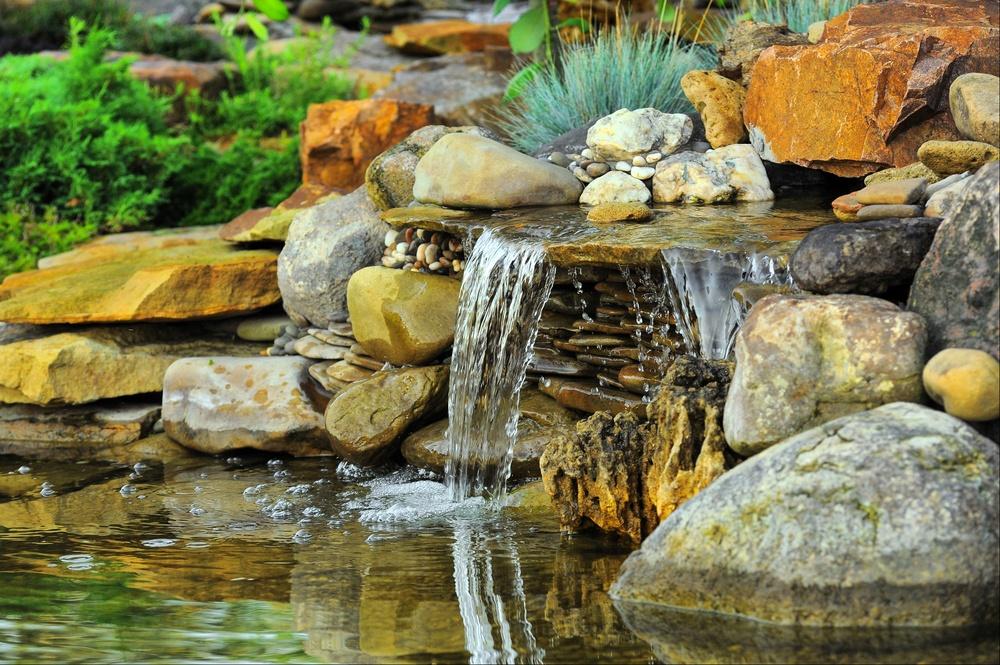 Водопад - естественный аэратор