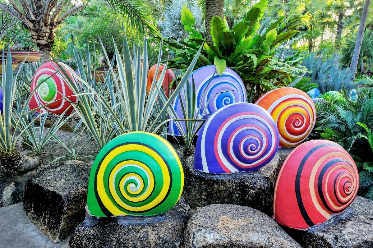 Декоративные фигуры в сад своими руками