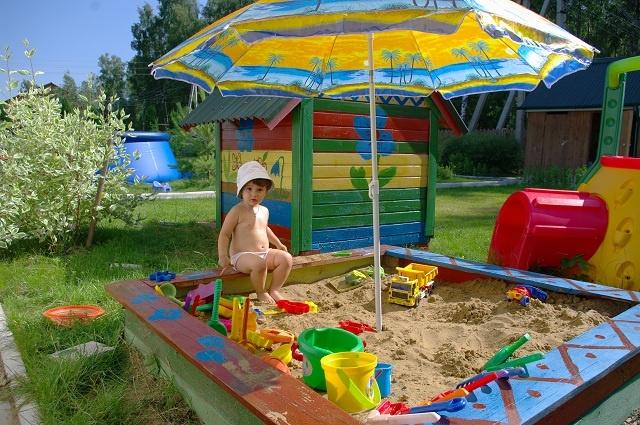 Детская площадка своими руками на даче фото