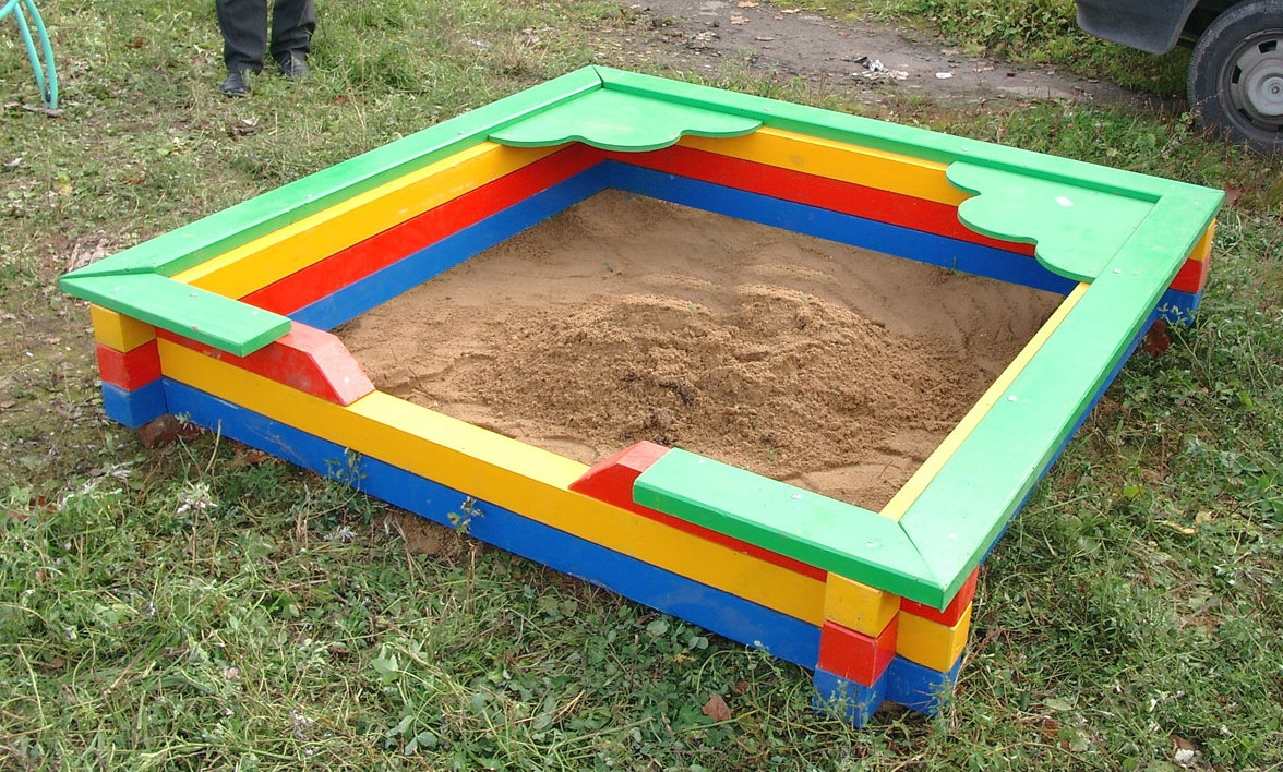 Фото песочнице своими руками