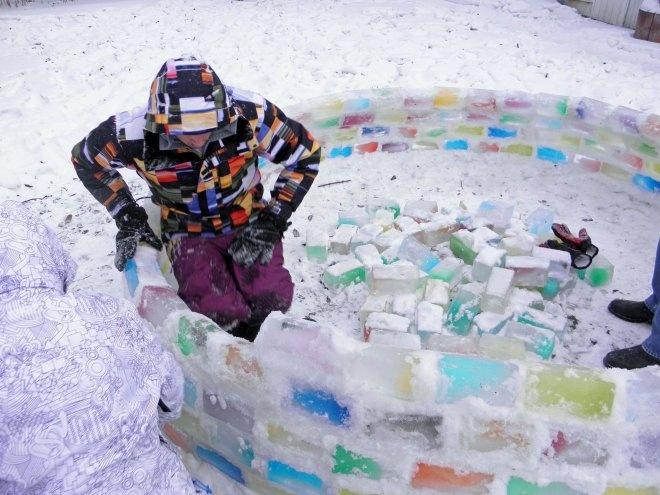 Из льда своими руками фото