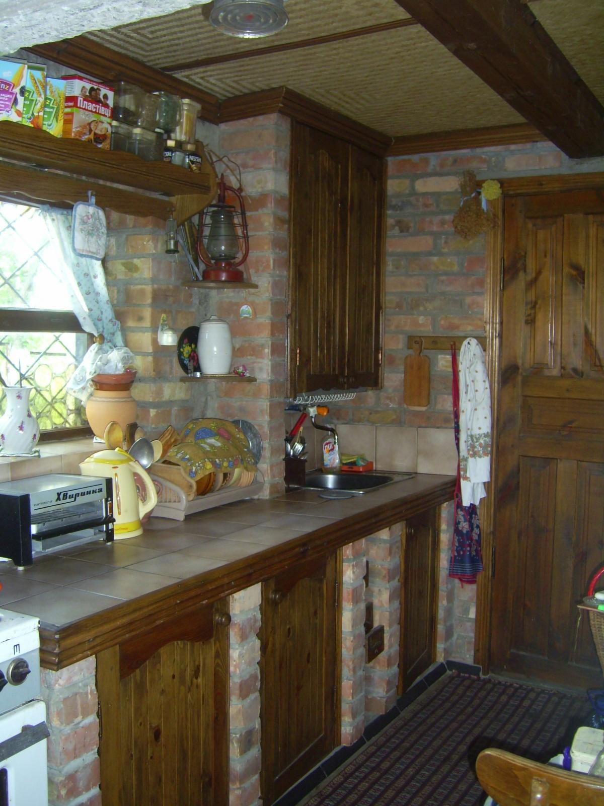 Кухня на даче своими руками фото
