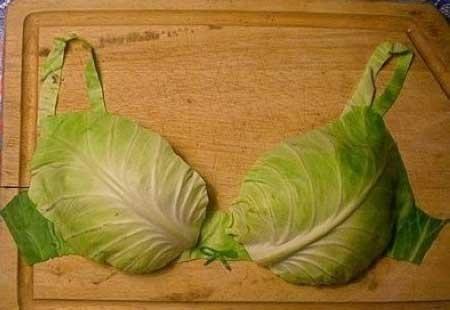 Капустный лист помогает при мастопатии