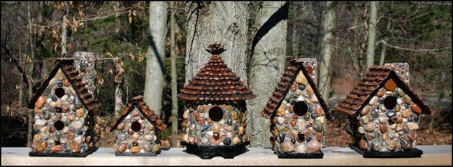Идеи домиков для птиц своими руками 6