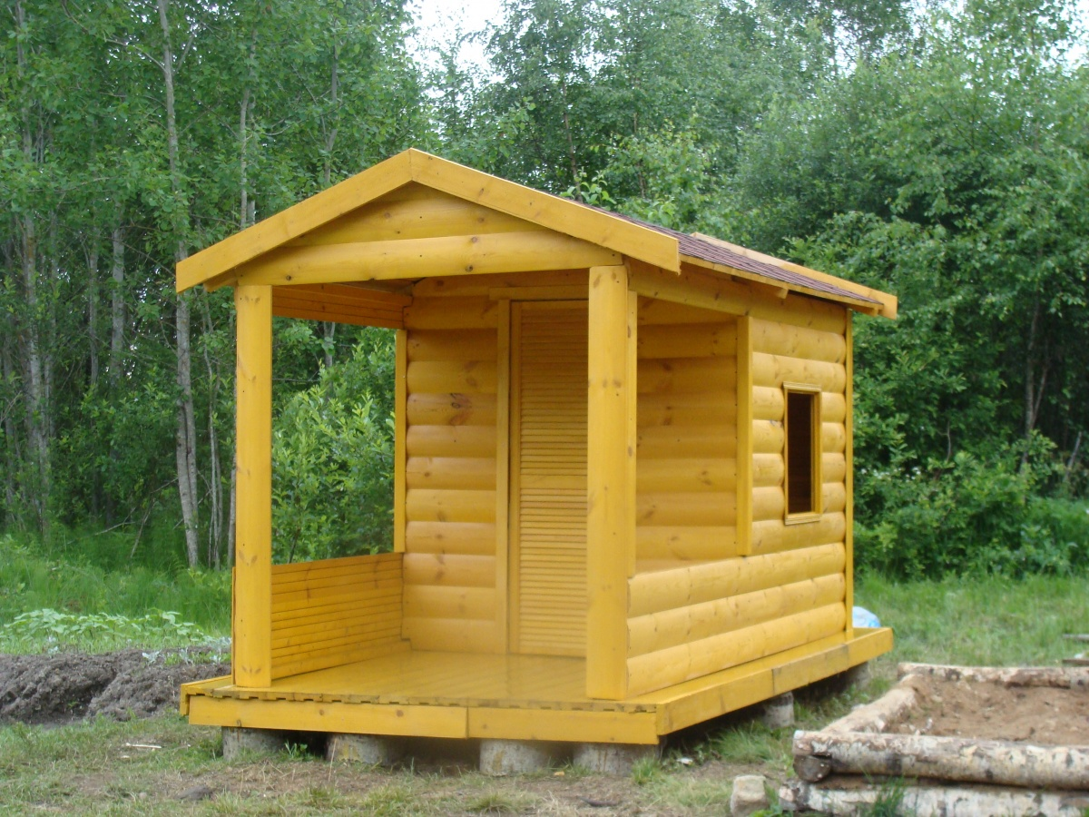 100 лучших идей: дачный домик своими руками на фото - Рататум 96