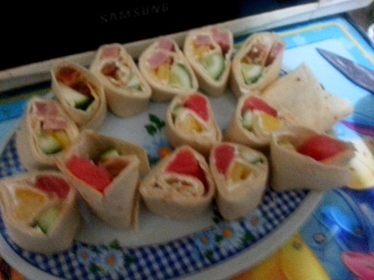 Экспресс-закуска Ролломания и Светофорчики