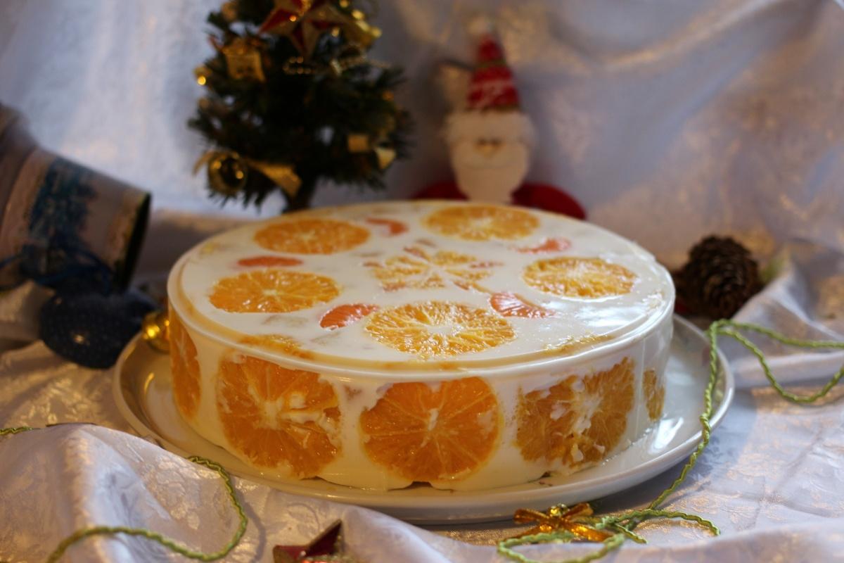 Рецепт торта с желатином