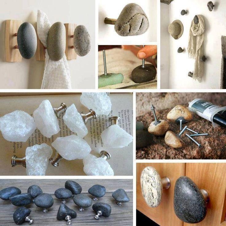 Ручки из натурального камня