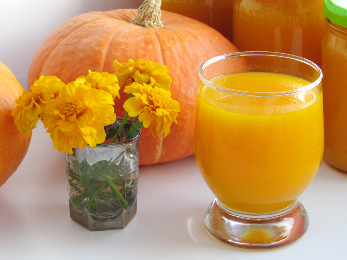 Сок из тыквы в домашних условиях рецепт пошагово