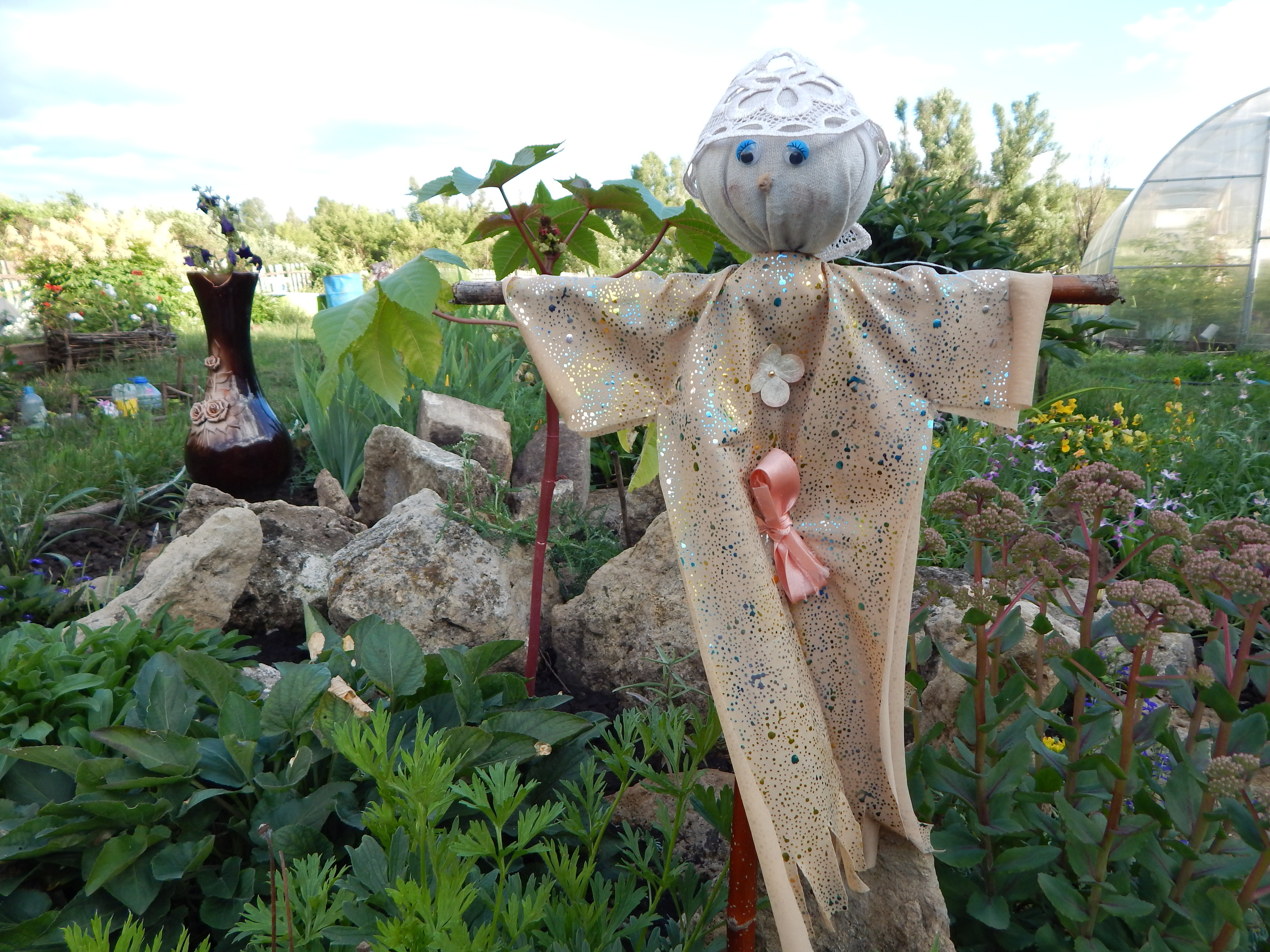 чучело в огород своими руками фото приходят